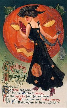 vintage-Halloween printables