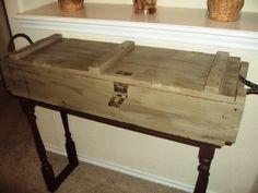 Upcycled Ammo Box!!