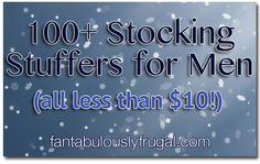 Stocking Stuffers for Men - 100  Stocking Stuffers for Men, all of them for less than 10!