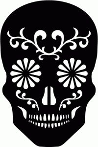 1000 Images About Sugarskull Printables On Pinterest