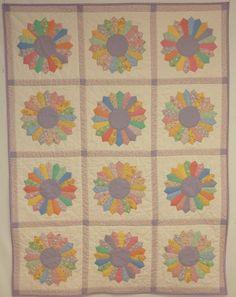 Traditional Modern Dresden Plate.  Peace, Robert from nancysfabrics.com