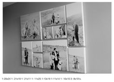 wall collage, frame, couch, collag idea, wall photo collage, wall display, photo collages