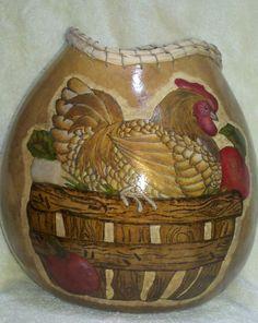 paint gourds1, chicken gourd, gourd craft, artist gourd, gourdsgourd art