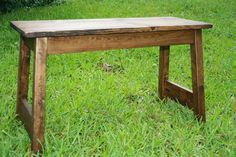Reclaimed Rustic Wood Bench by WornOutWood on Etsy, $80.00