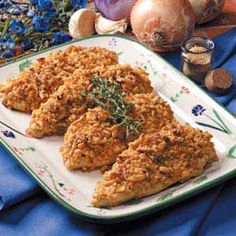 Crispy Onion Chicken...so easy & delish!!
