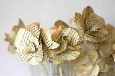 My version of  Ellinée´s paper roses