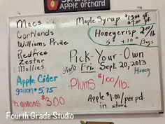 """""""Real Life Math""""!  Come check out today's math linky about all the """"real life""""  math I found at the orchard! Grab the freebie while you are there as well!"""
