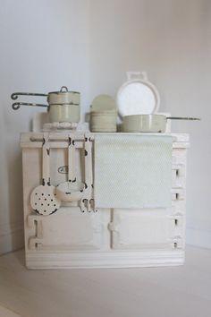 miniature Aga cook stove
