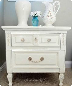 Spray painted furniture and tips