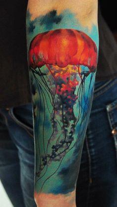 Jellyfish Tattoo.