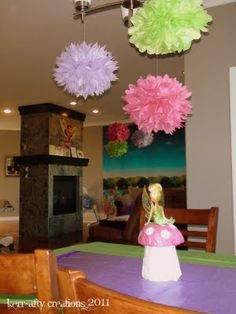 Kerr-afty Creations: Tinkerbell Birthday Party
