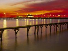 A look at the Fairhope Pier Fairhope, Alabama...