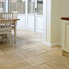 Travertine Unfilled Chiselled Edge Tile - Travertine Floor Tiles - Floor Tiles -Tiles & Flooring - Wickes