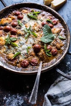 One-Pan Spinach and