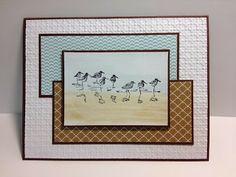 Wetlands Masculine Card Stampin' Up! Rubber Stamping Handmade cards Masculine Cards