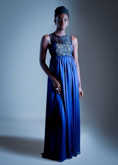 A piece from the Ghanaian fashion label Mina Evans.