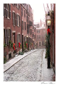 Boston, Massachusetts - Christmas in Boston