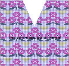 3 mooie breiontwerpen voor dames truien met een V hals gratis breipatronen telpatronen inbreipatronen