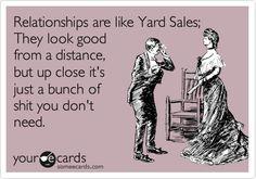 Yard Sales... Sometimes, hah! Funny! #yardsale #garagesale #fleamarket