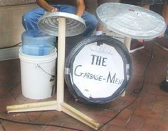 sliders, music play, garbag pictur, garbagemen drum, garbag men, instruments