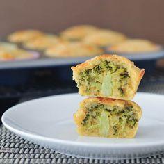 broccoli cheese muffins - vegan