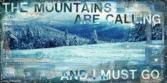 Trail View No. 1 - White Mountains