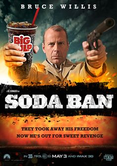 Soda Ban - News Stories Not Coming Soon to Theaters: Twerk Off http://www.nextmovie.com/blog/news-story-movie-posters/