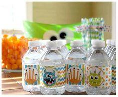 birthday idea, water bottl, 1st birthdays