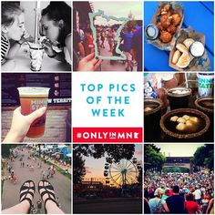 """The """"Great Minnesota Get-Together"""" kicked off yesterday and your photos are making us hungry! Here is our @mnstatefair """"Top Pics of the Week."""" Continue tagging your Minnesota State Fair pics with #OnlyinMN Clockwise from top left: @themeganellen @suitcaseheart @cjdanek @growlermag @c.b.rosen @gdgoerke @ritakovtun @jessieschneider"""