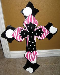 Wooden crosses...super cute love this one