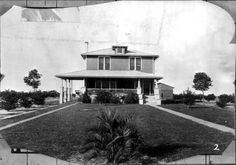 Front view of a farm residence - Walton County, Florida ca. 1929