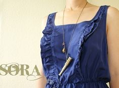 Miniature Spyglass Necklace  working telescope by soradesigns, $34.50