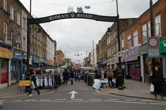 Roman Road Market, Bow by ddgurman, via Flickr