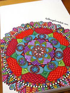 Mandala Art by Hello Angel Creative, via Flickr