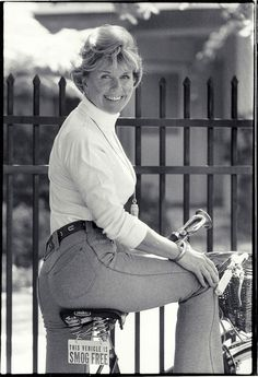 doris day bike..great picture!