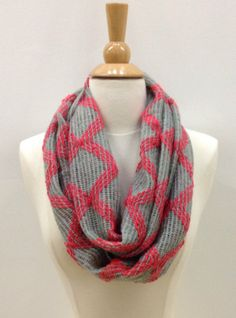 Diamond Scarf in Coral - $16.99 : FashionCupcake, Designer Clothing, Accessories, and Gifts