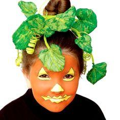Pumpkin Makeup for Kids