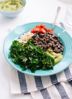 Kale and black bean