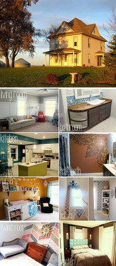 Transformation of an old farm house {Sawdust and Embryos}