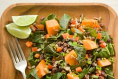 Sweet Potatoes with Collard Greens and Adzuki Beans from Whole Foods Market