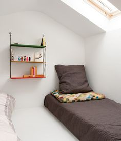 attic bedrooms, loft spaces, shelv