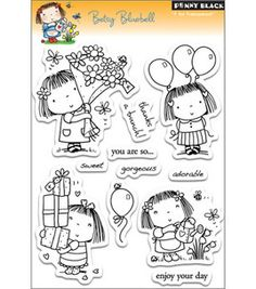 Penny Black Clear Stamps - Betsy Bluebell