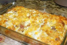 Christmas morning breakfast!!! Scattered Thoughts of a Crafty Mom: Ham, Cheese and Hash Brown Frittata