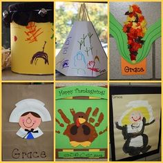 Another collection of Thanksgiving crafts