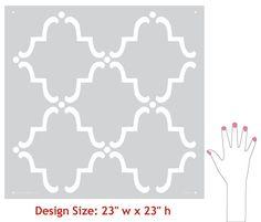 Moorish tiles. Motif