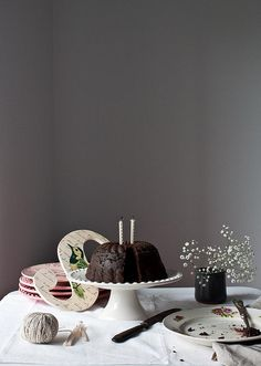 Carob and Beetroot Cake by Little Upside Down Cake
