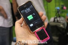 Solar power charger for iphone...need one for camping/ beaching adventures!    Could have used this at Disney
