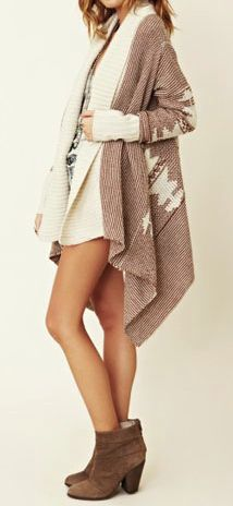 BB DAKOTA Sioux Cardigan. I'm obsessed with chunky cardi's