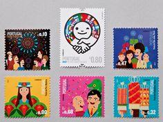 10 inspiring stamp illustrations