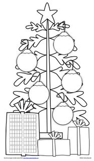 Math Coach's Corner: A Christmas Forest of Numbers!
